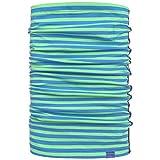 maximo Jersey Stripes Multifunktionstuch Chustka Wielozadaniowa Schal Kinderschal (One Size - grün-blau)