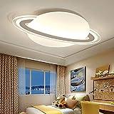 IG LED-Deckenleuchten - Kreative Kinderzimmer Planet Cartoon-Deckenleuchte - Moderne Wohnzimmer Schlafzimmer Scheinwerfer, Warmlight und White Light,Warmes Licht,45 * 30cm