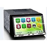 MGNav MG7005M Autoradio Universal 2Din 17,8 cm (7 Zoll) Multimedia Navigationssystem (DVD, DVR, BT, USB, SD, GPS)
