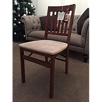 Stakmore Arts And Craft Folding Chair Cherry Finish Mink