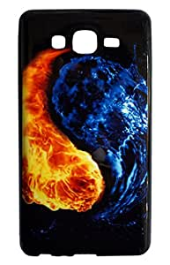 NSI Exclusive Collection of PU Printed Back Cover / Back Case for Samsung Galaxy On7