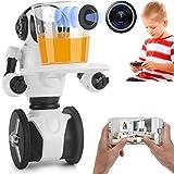 Intelligente Roboter 0.3MP Kamera Wifi FPV APP Intelligente Steuerung G Sensor Roboter Super Carrier Kinder Spielzeug Fernbedienung Roboter Mit LED Augen Singen Und Tanzen Walking Sliding,White