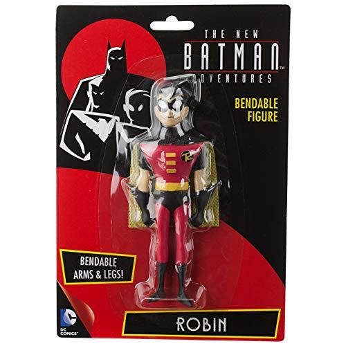 NJ Croce Batman The New Batman Adventures Robin Bendable Figure, Multi Color (5-inch)