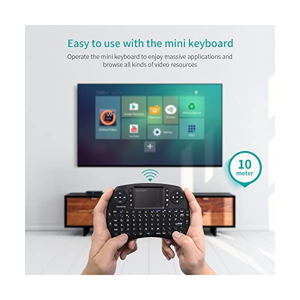 TV-Box-Avec-Clavier-Android-60-2GB-DDR3-16GB-ROMTICTID-S95X-Pro-with-keyboard-Smart-TV-Box-4K-Amlogic-S905X-Quad-Core-Prozessor-100M-LAN24g-Wifi-H265-Hardware-Video-Decoder