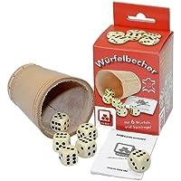 Nürnberger-Spielkarten-Verlag - Cubilete de dados, de 2 a 6 jugadores