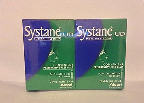 Systane sans conservateur fioles 28x 28x 0,8ml (Lot de 2)