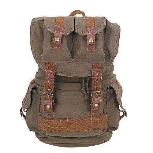 Imagen de dslr cámara reflex lona bolsos de hombro  con tapa impermeable y bolsa de depósito interior