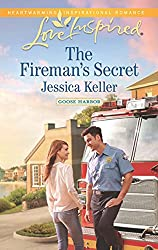 The Fireman's Secret (Mills & Boon Love Inspired) (Goose Harbor, Book 2)