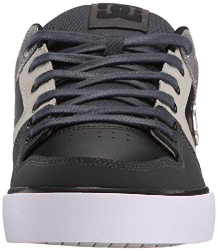 DC Shoes PURE SE SHOE D0301024, Baskets mode homme Rose/noir/gris