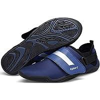 DENGBOSN Badeschuhe Aquaschuhe Strandschuhe Wasserschuhe Schwimmschuhe Surfschuhe für Herren Damen