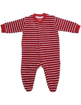 Living Crafts Baby Frottee-Schlafanzug aus Bio-Baumwolle