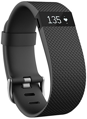 Preisvergleich Produktbild Fitbit Charge HR Wireless Activity Wristband (black and large size) Sold by First dental