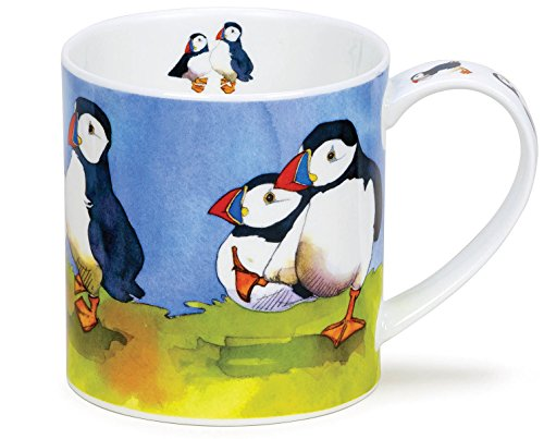 Seaside Ceramic (Dunoon Orkney Emma Ball Seaside - Puffins)
