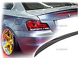 Car-Tuning24 54813587 wie Performance und M3 E82 E88 1er HECKSPOILER SPOILER Lippe LACKIERT Universal SCHWARZ Lack 668