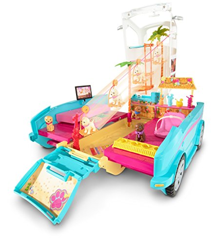 Image of Barbie Ultimate Puppy Mobile Toy