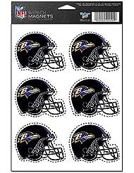 Baltimore Ravens 6-Pack Magnet Set