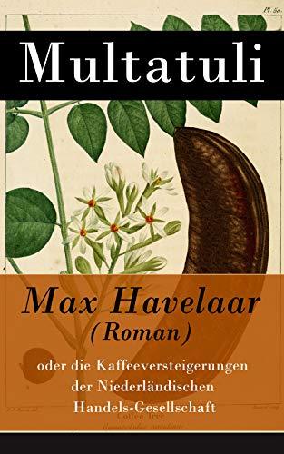 Max Havelaar (Roman): oder die Kaffeeversteigerungen der Niederländischen Handels-Gesellschaft