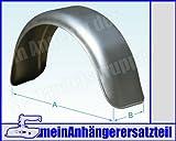 Metall Blech Schutzblech Kotflügel 150x560mm / 15x56 cm für Pkw Anhänger