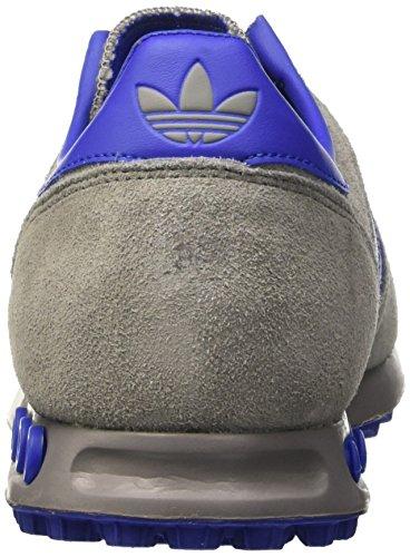adidas Trainer, Baskets Homme Gris (Chsogr/Boblue/Ftwwht)