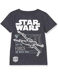 RED WAGON Star Wars Boys Vehicle T-Shirt Bambino