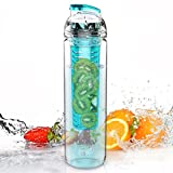 Trinkflasche für Fruchtschorlen, 800ml, Tritan, verschiedene Farben...