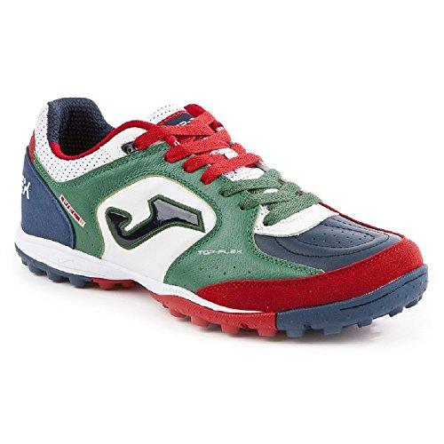 Joma , Chaussures de foot pour homme Blanc-vert-bleu