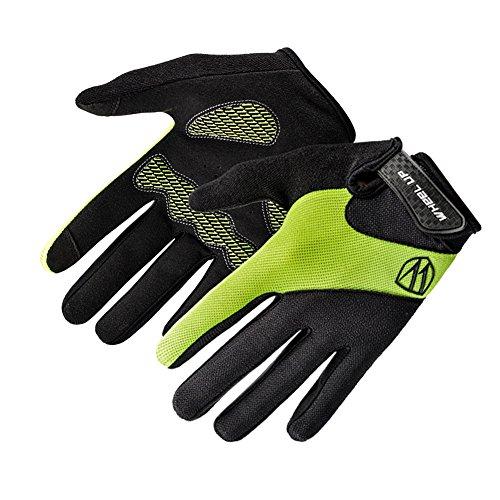 TININNA Gants d'hiver,Chaud ÉcranTactile Gants d'extérieur Coupe-Vent Complet Doigt Gloves pour Cyclisme Ski Escalade Vélo Vert XL