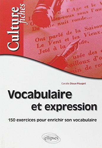 Vocabulaire et expression - exercices po...