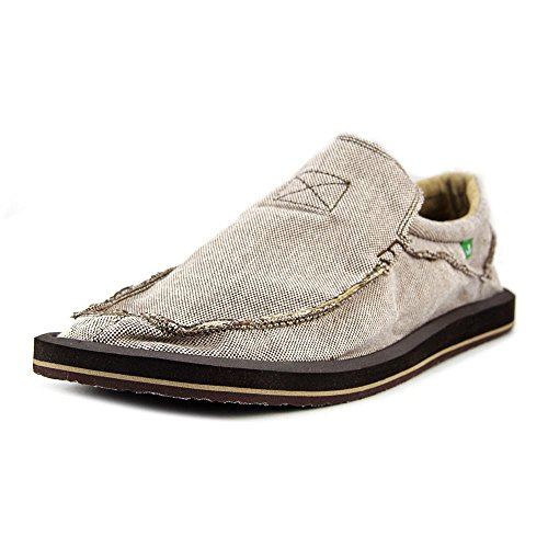Sanuk Mens Chiba TX Slip-On Shoe brown