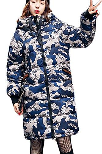 Les Femmes De L'hiver Polaire À Midi. Mignon, Chaud Les Parkas Outercoats Vêtements Doublés 4