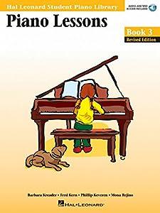 HAL LEONARD STUDENT PIANO LIBRARY PIANO LESSONS BOOK 3 PF (Hal Leonard Student Piano Lbry)