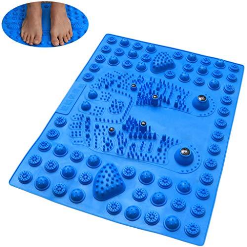 BIEE Fußmassagematte, Akupressur-Fußmatte Fußreflexzonenmatte Fußreflexzonenmatte mit Magnetfeldtherapie