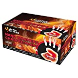 Little Hotties Hand Pocket Glove Warmers Winter Season Bulk Pack-40 Pairs, Black, Medium