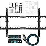 Cheetah Mounts APTMM2B Plat (3.3cm) à pivot Support Mural TV pour écran plat de 20 à 75 (50-190cm) LED, LCD...