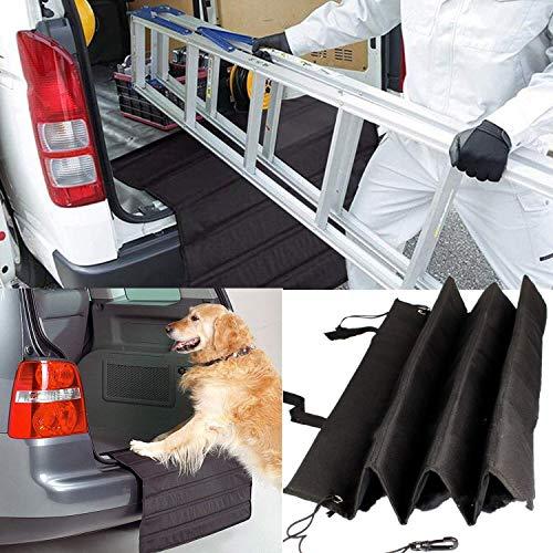 STARPIA Copertura Bagagliaio Auto e Protezione Paraurti per Trasportare Cani, Imbottitura Bagagliaio per Cani, Pet Protezione Paraurti Bagagliaio, AntiGraffio per Paraurti Posteriore
