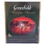 Greenfield Schwarzer Tee Kenyan Sunrise 100 Beutel Schwarztee