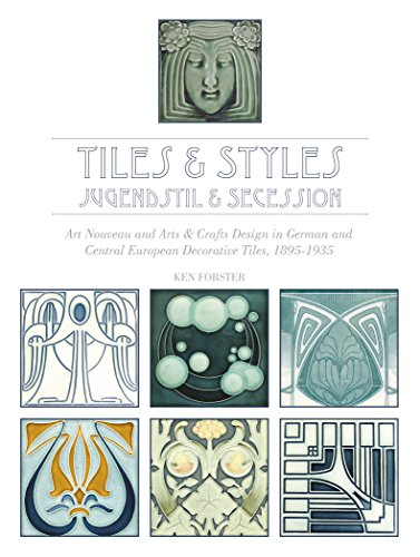 Tiles & Styles--Jugendstil & Secession: Art Nouveau and Arts & Crafts Design in German and Central European Decorative Tiles, 1895-1935