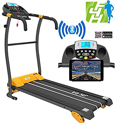 Fit4home healthmate JK-04 Motorized Folding Treadmill Exercise Machine Fitness Folding treadmill walking machines treadmill running machine from Fit4home