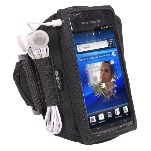 igadgitz-nero-fascia-braccio-armband-sport-corsa-fitness-per-sony-ericsson-xperia-arc-s-android-smar