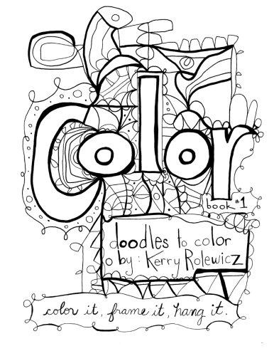 Color: Volume 1 (Coloring Books)
