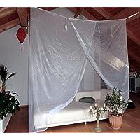 Brettschneider, Zanzariera 052151 Lodge Big Box I, Poliestere, Bianco