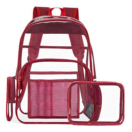 Ledertasche, Schultertasche, Geschenk, Handgefertigte Tasche,Mode Frauen im Freien transparente Jelly Square Schultertasche Messenger Bag ()