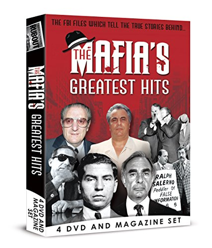 The Mafia's Greatest Hits - 4 DVD BOXSET [4 DVD & Bookazine Gift Set]