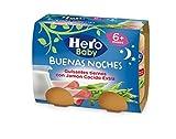 Hero Baby Babynoches guisantes Tiernos Jamón Cocido - Pack de 2 x 190 g - Total: 380 g