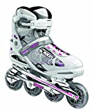 Roces Damen Inlineskates Trails, weiß-rosa-schwarz, 41, 400750-001 white-pink-black