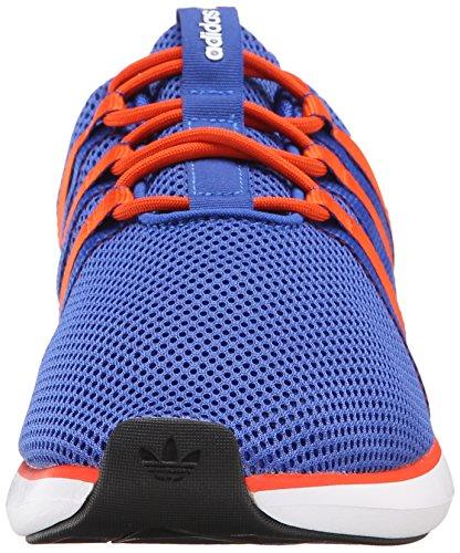 Adidas Originals Sl Loop-Racer Schnürschuh, schwarz / grau / grau, 7 M Us Bold Blue/Collegiate Orange/White