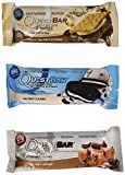 Quest Nutrition Protein Bar Variety Pack, Including Smores, Cookies & Cream & Chocolate Chip Cookie Dough, Pack of 12, 4 of Each