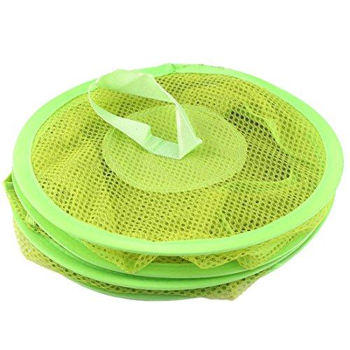 3Regal Spielzeug zum Aufhängen Organizer Tasche Aufbewahrung Netz Korb Schlafzimmer Schrank Organisatoren grün