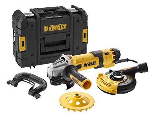 DeWALT DWE4257KT-QS Elektr-Winkelschleifer 125mm 1500W Beton 2 W, 240 V