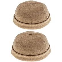 Prettyia 2 Unidad Sombrero de Pez Alpianismo Accesorios Cabeza Hombre Mujer Multiutilizado Vestido Cómodo
